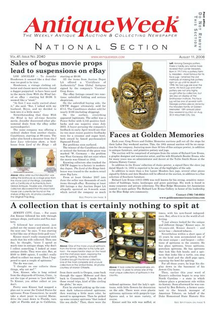 Antiqueweek Feature On Global Antiques