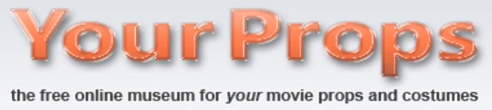 YourProps Online Movie Prop Museum