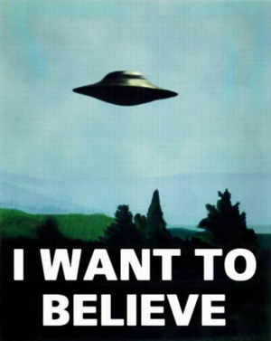 """Trend: """"I Want To Believe"""""""