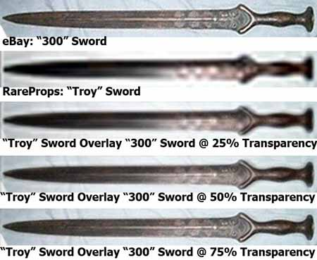 "eBay ""300″ Sword Comp RareProps ""Troy"" Sword x450"