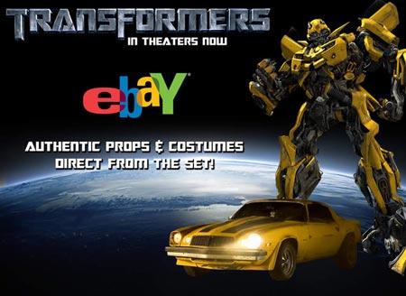 Transformers Premiere Props Ad
