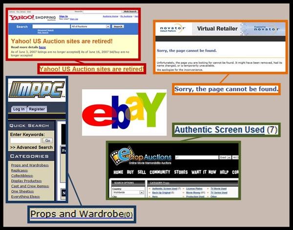 Original Props, eBay, and Competition in the Online Auction