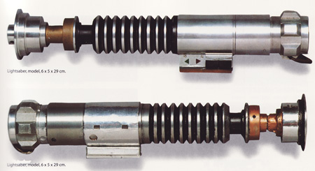 LFL Archive Lightsabers Return of the Jedi Props