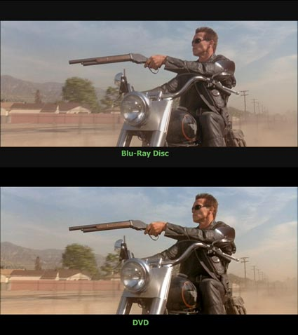 Terminator 2 Judgment Day DVD vs Blu-Ray Disc Screencap x425
