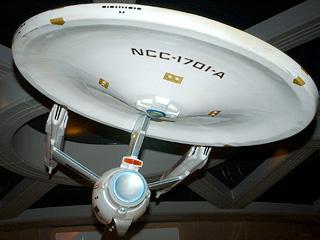 NCC 1701A Shooting Model Original Prop Star Trek The Tour