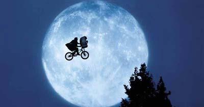 E.T. The Extra Terrestrial BMX Elliot Bike Prop Stephen Spielberg