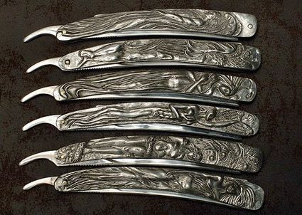 Sweeny Todd Prop Knives Photo 01