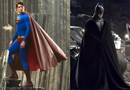 Superman Returns Batman Begins Justice League Of America WETA Movie Costumes Props