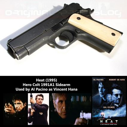 Heat Colt M1001A Series 80 Used By Al Pacino as Vincent Hana in the Michael Mann Film