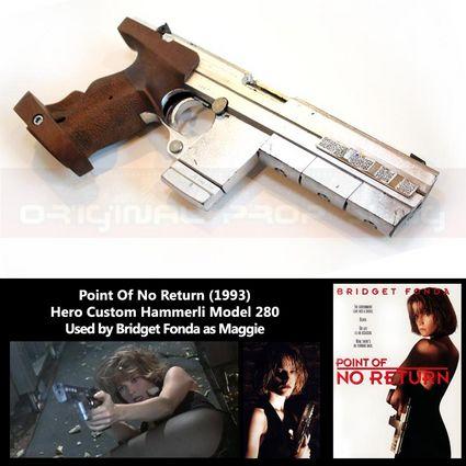 Point of No Return Bridget Fonda Hero Hammerli Model 280 Pistol x425