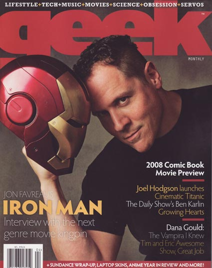 Profiles in History Article in Geek Monthly Magazine