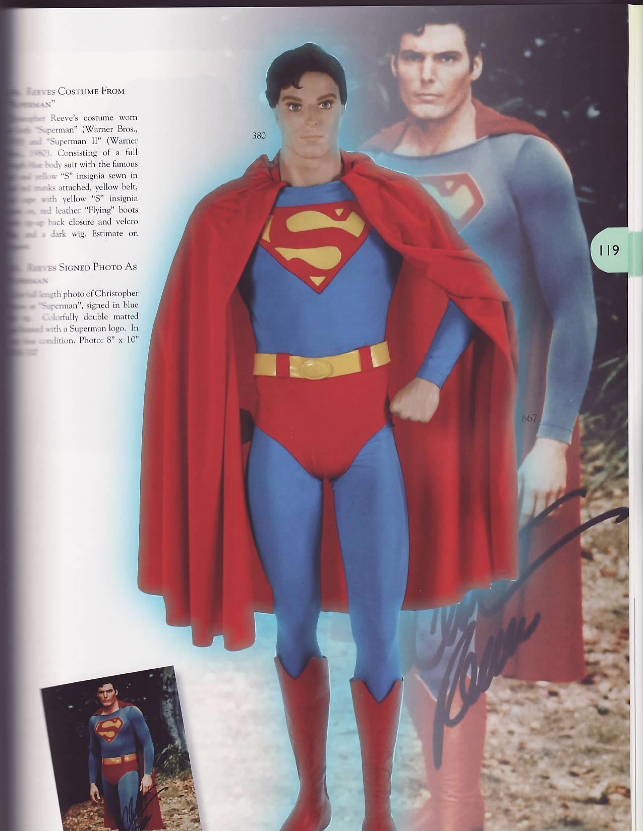 Auction Costume Ebay Suit Superman Wig 80