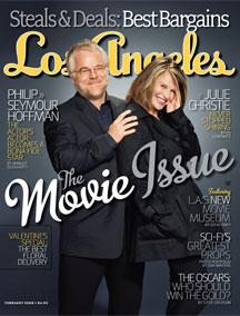 Los Angeles Magazine February 2008 Cover