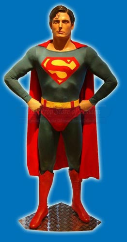 """Prop Store Collection"" Superman Costume, Fabric Discussion Continued, Part 1"