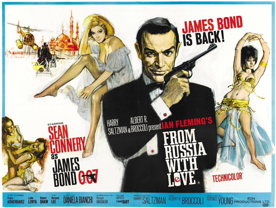High Resolution Archive: From Russia With Love – One Sheet