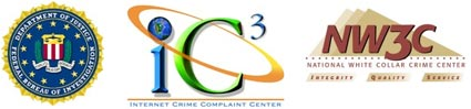 Internet Crime Complaint Center (IC3) Releases 2007 Report