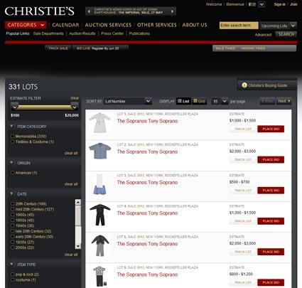 Christie's: Pop Culture – New York, June 25, 2008 – Catalog Online