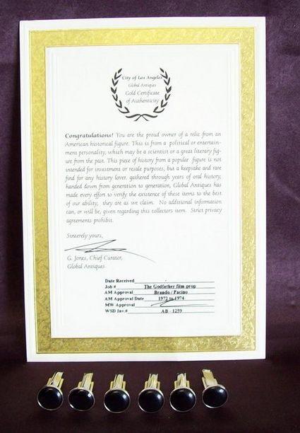 Certificate of authenticity autograph template authenticity autograph template certificate of authenticity autograph yadclub Gallery