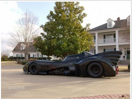 Batmobile Makes Brief Appearance on eBay?