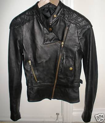Charity Auction: Angelina Jolie's Leather Jacket from Wanted