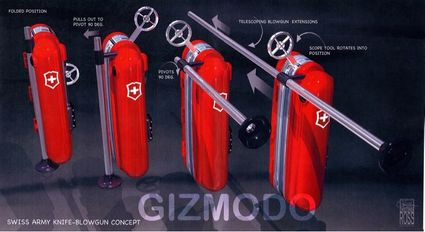 gizmodo get smart swiss army knife prop feature
