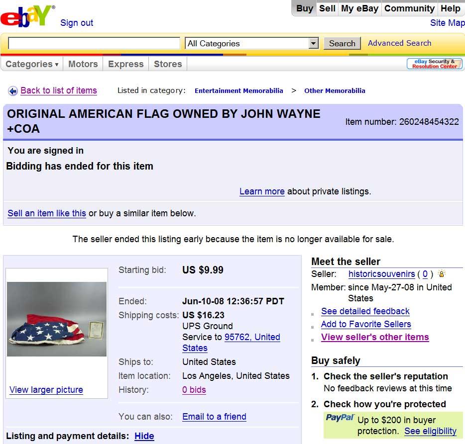 Historic Souvenirs Cancels Global Antiques Ebay Auctions Auction Depot La Update