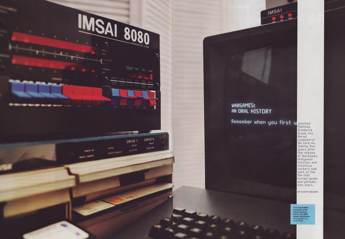 WIRED WarGames Roundtable, Original IMSAI 8080 Computer