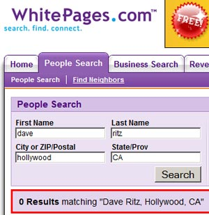 Whitepages Ca