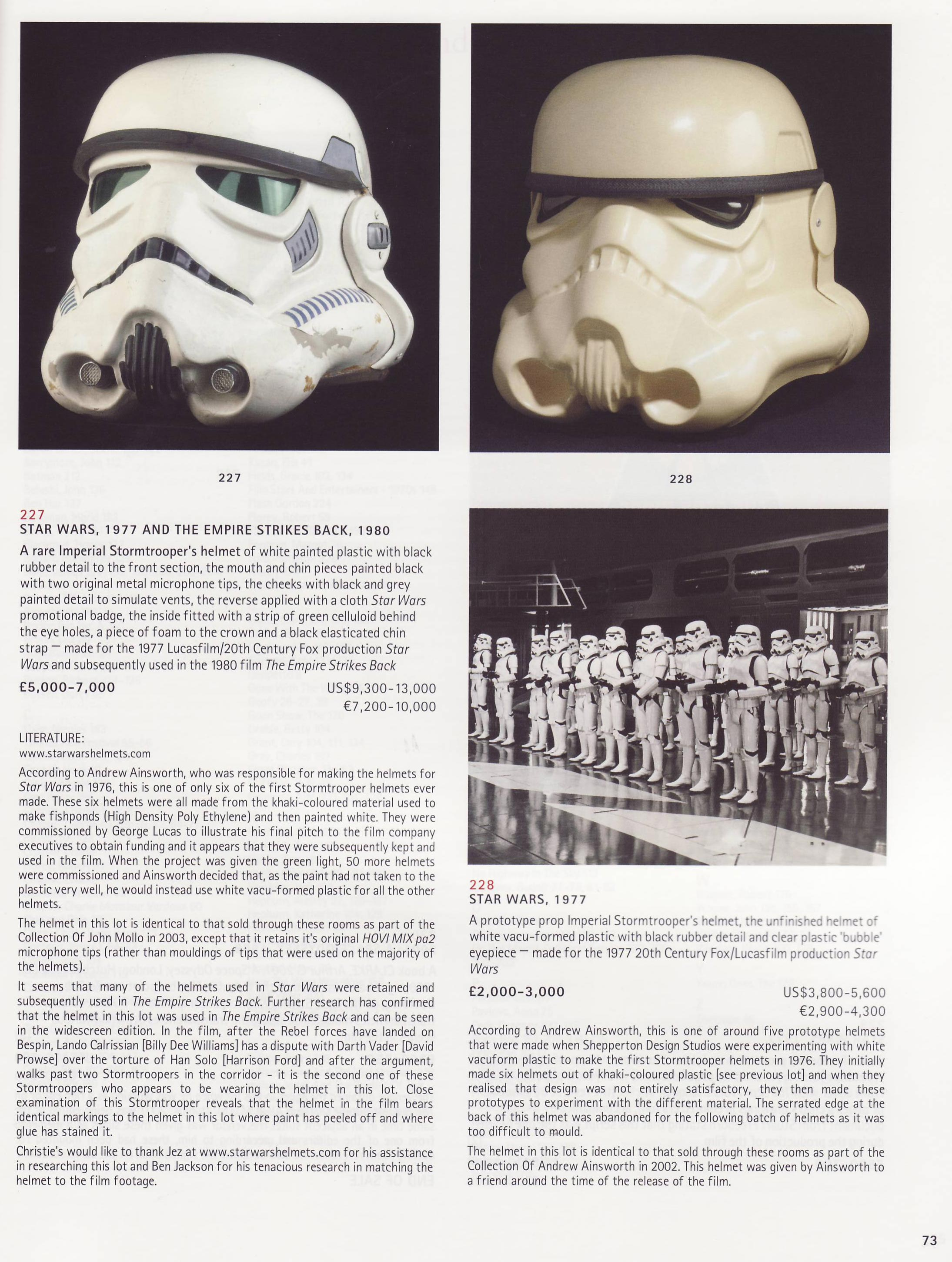 "StarWarsHelmets.com Video Review: Original ""Star Wars""/""Empire Strikes Back"" Stormtrooper Helmet"