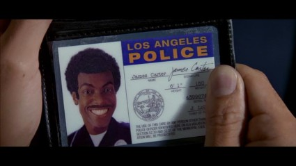 Screen-Match Examples Series: Rush Hour LAPD Credentials