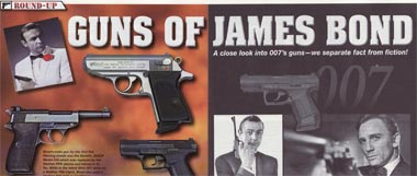 "Concealed Carry Handguns Magazine: ""Guns of James Bond"""