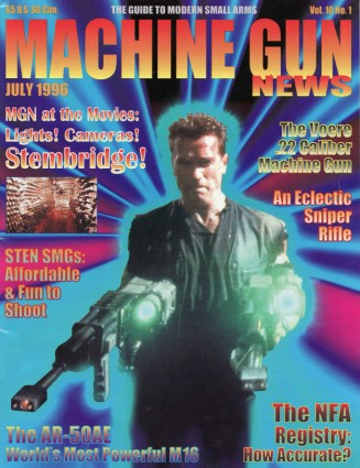 """Machine Gun News"" Stembridge Gun Rentals Article – Circa 1996"