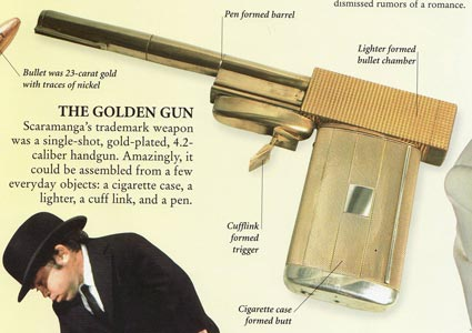 "James Bond ""Golden Gun"" Update: High Quality Photo, Comparisons, Pinewood Studios Account"
