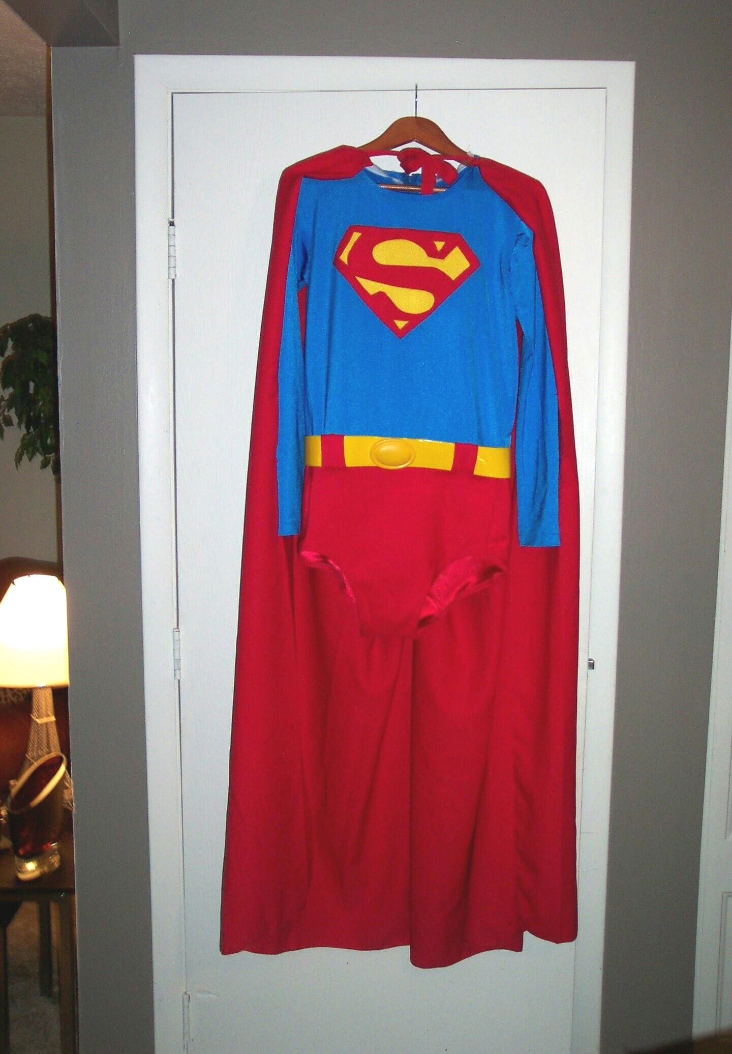 Auction Costume Ebay Suit Superman Wig 105