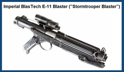 """Star Wars: A New Hope"" Batpy's Stormtrooper Blasters"