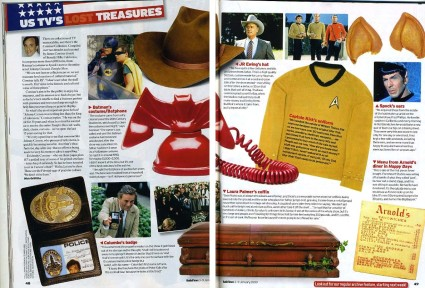 The Comisar Collection Featured in RadioTimes Magazine