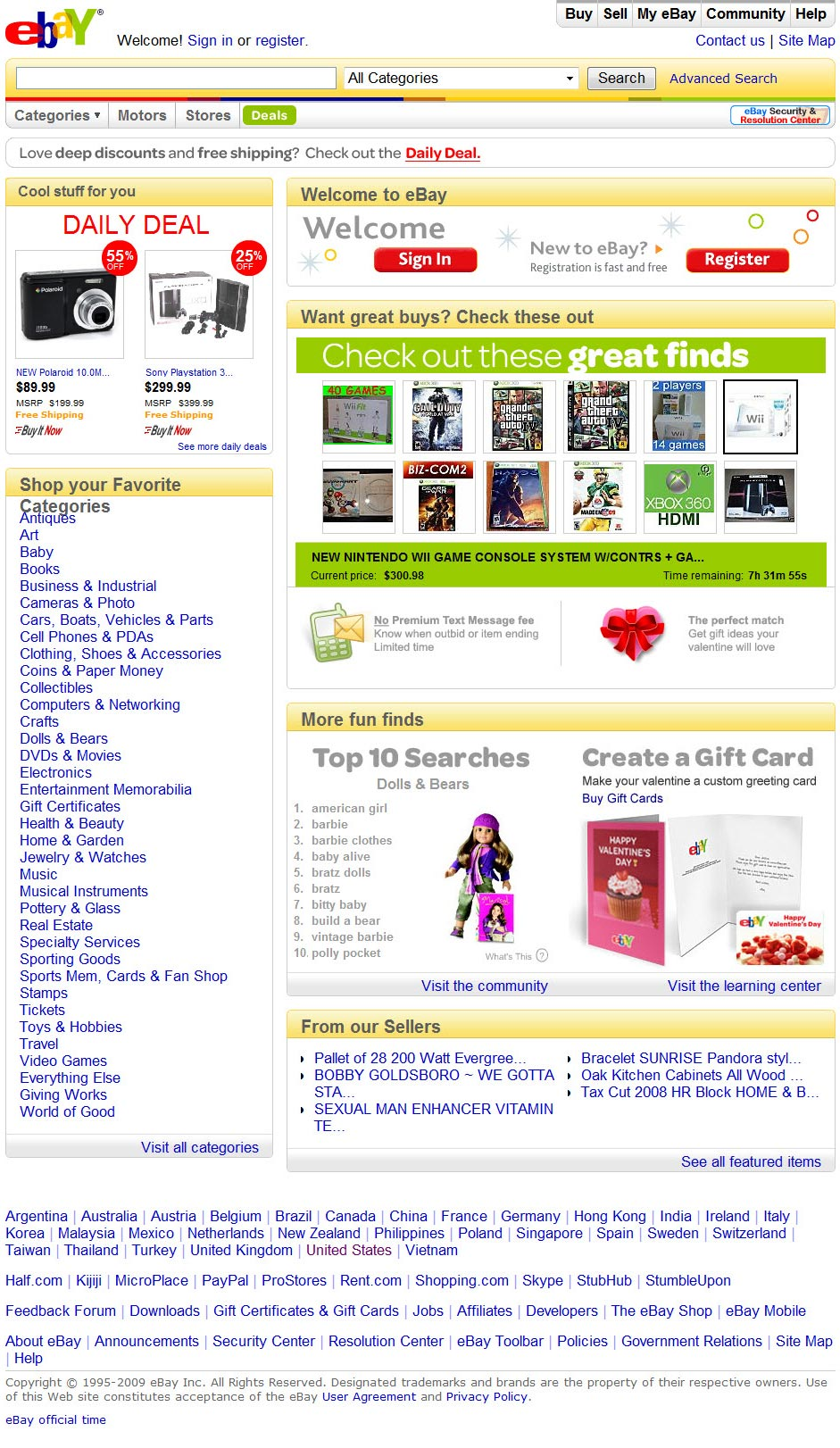 "The ""Billboardization"" of eBay: Auction Site or Advertising Machine?"