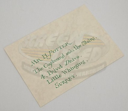 screenused harry potter hogwarts invitation envelope front 05