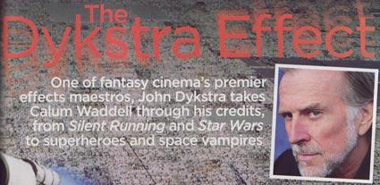 John Dykstra Interview in SFX Magazine