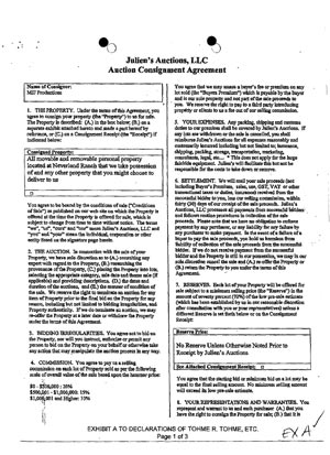 Michael Jackson  JulienS Auctions Lawsuit Update Review Of