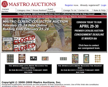 Mastro Auctions Closes In Midst Of FBI Investigation Into Shill Bidding & Fraud Allegations