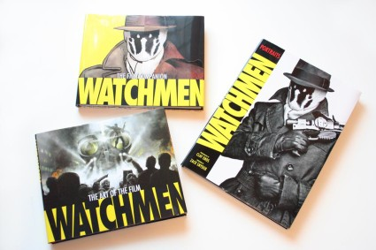 "Book Reviews – ""Watchmen: The Film Companion"", ""Watchmen: Art of the Film"", & ""Watchmen: Portraits"""