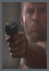 """Die Hard"" Movie Prop Beretta, NYPD Badge Set, Zippo Lighter, Radio"