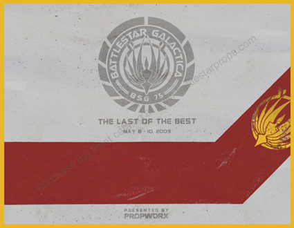 Battlestar Galactica Original Prop Auction II Update – Live Event Catalog Available Online