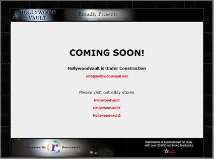 "Studio Reseller Hollywood Vault (""Rainmakers""): Current & Future Status?"
