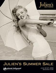 """Julien's Auctions """"Summer Sale"""" June 2009 in Las Vegas, Catalog Available Online"""