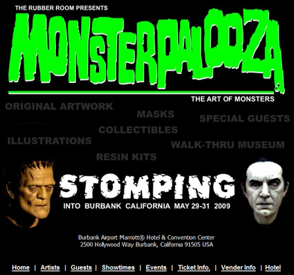 Monsterpalooza Convention & Event May 29-31 in Burbank, CA