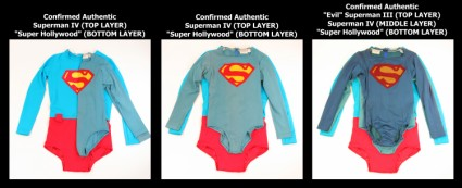 "Superman Costume Comparative Analysis: Warner Bros. Archive, Authenticated vs. ""Super Hollywood"""