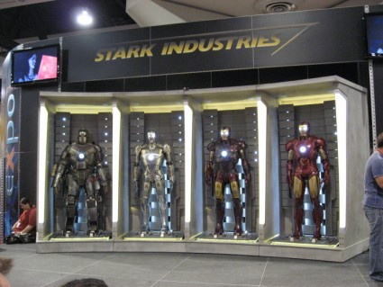 San Diego Comic Con 2009: Original Movie Props on Display in Exhibit Hall