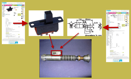 Maplin-Electronics-Parts-Elstree-Props-ROTJ-Lightsaber-Analysis-Marked-x425